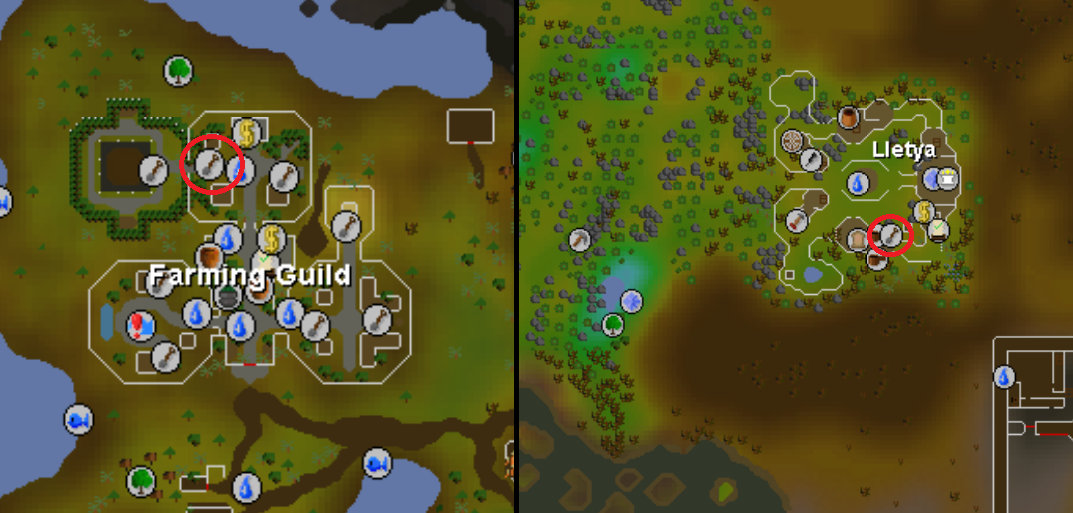map for osrs farming guide
