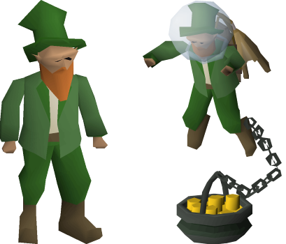 old school runescape farming leprechaun