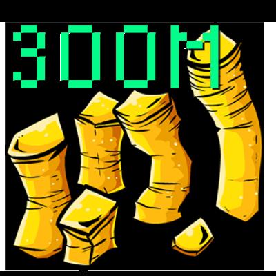 300M OSRS Gold